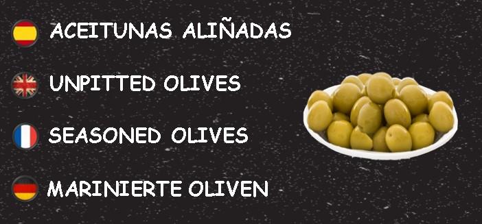 ACEITUNAS ALIÑADAS